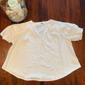 Free People Fever Dream Tee size S
